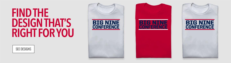 Big Nine  Conference Find Your Design Banner