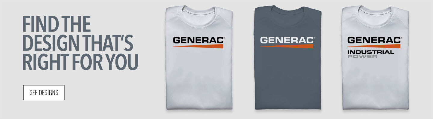 Generac Power Systems Find Your Design Banner