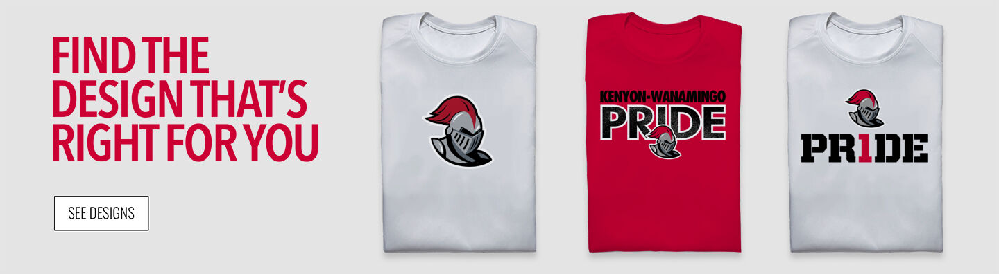 Kenyon-wanamingo Knights Find Your Design Banner