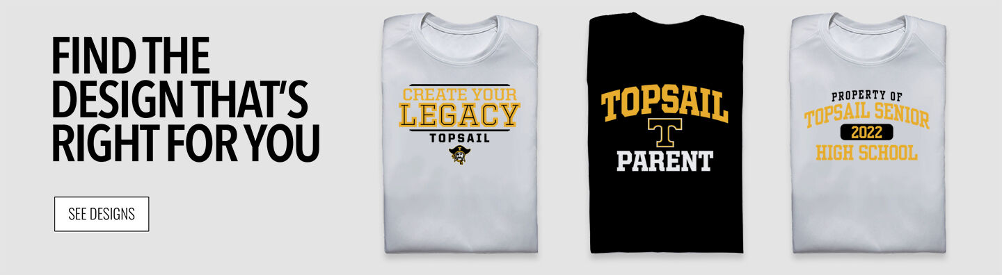 Topsail Pirates Pirates Find Your Design Banner