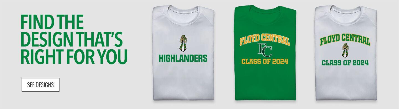 Floyd Central Highlanders Find Your Design Banner