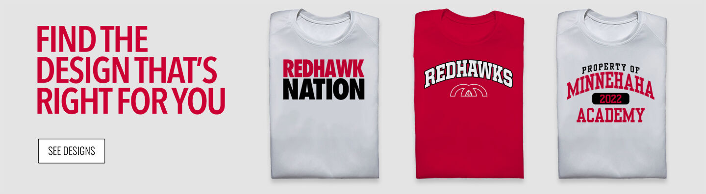 Minnehaha Academy Redhawks Find Your Design Banner