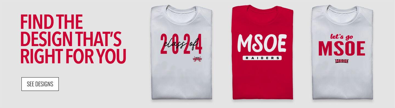 MSOE Raiders Find Your Design Banner