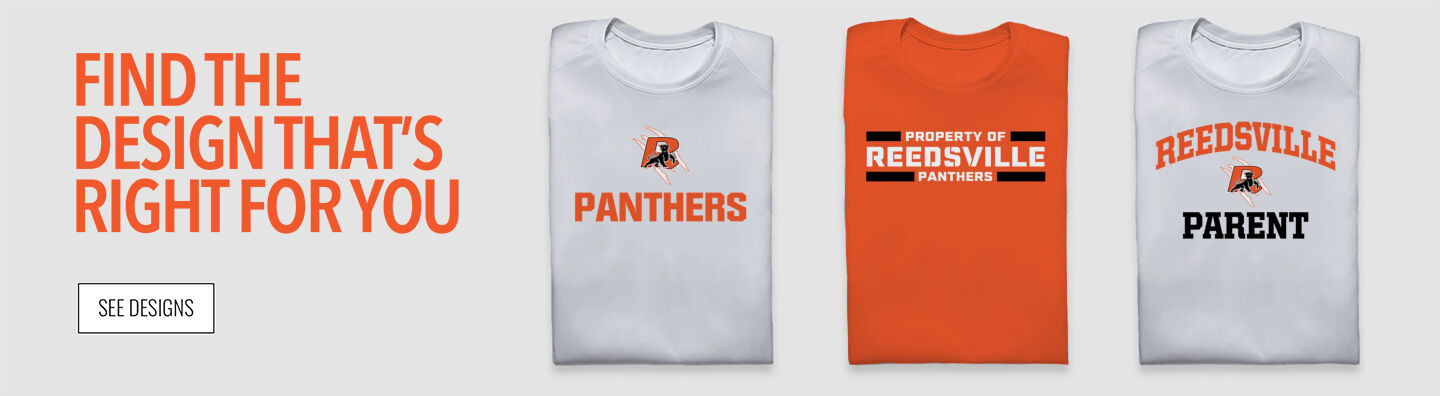 REEDSVILLE PANTHERS The Official Online Store Find Your Design Banner
