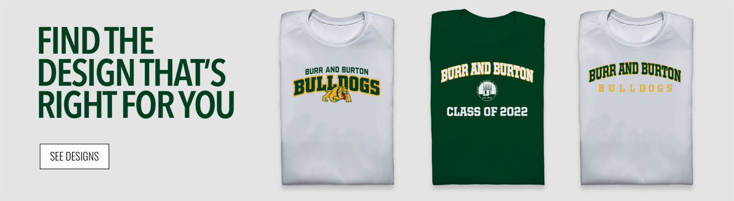 BURR AND BURTON ACADEMY The Official Online Store Find Your Design Banner