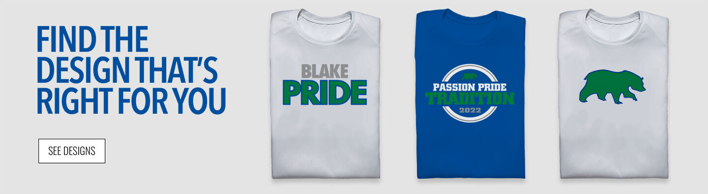 Blake Bears Find Your Design Banner