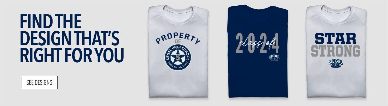 Siegel Stars Find Your Design Banner