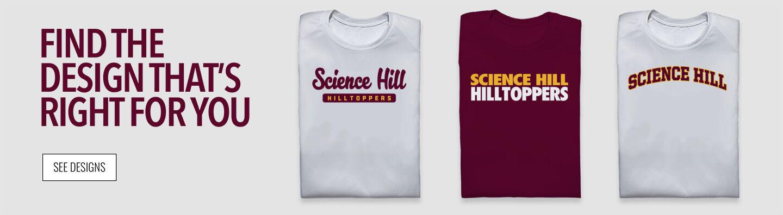 Science Hill Hilltoppers Online Store Find Your Design Banner