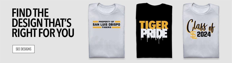 SAN LUIS OBISPO TIGERS ONLINE STORE Find Your Design Banner