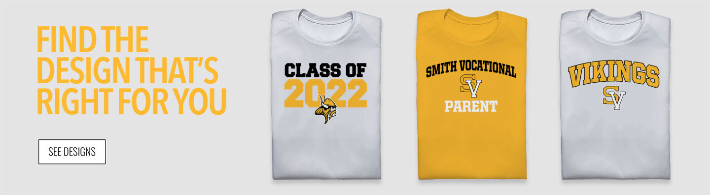 Smith Vocational Vikings Find Your Design Banner