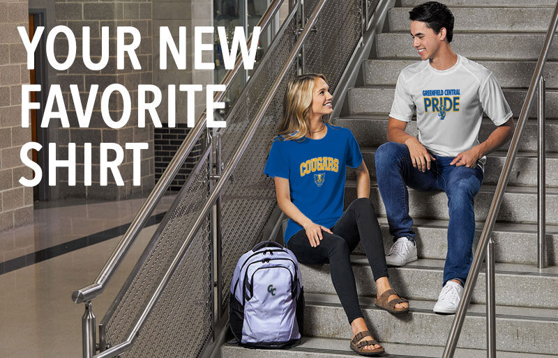 Greenfield Central Cougars Online Store Your New New Favorite Shirt Banner