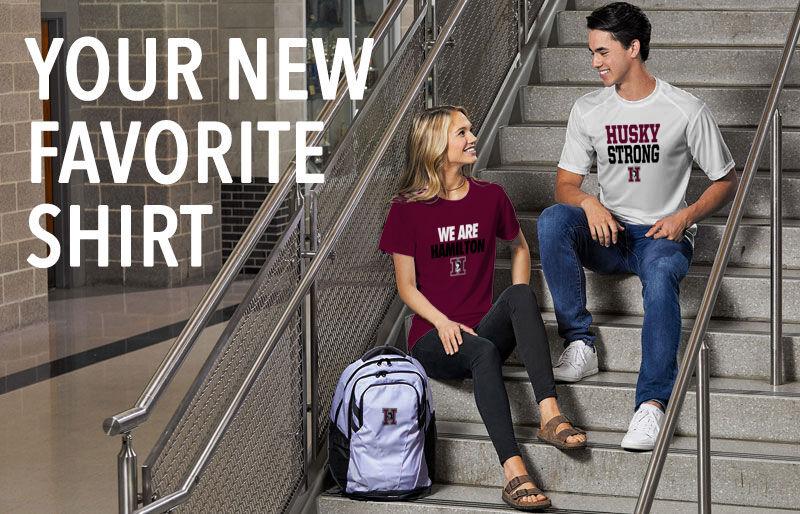 Hamilton Huskies Your New New Favorite Shirt Banner