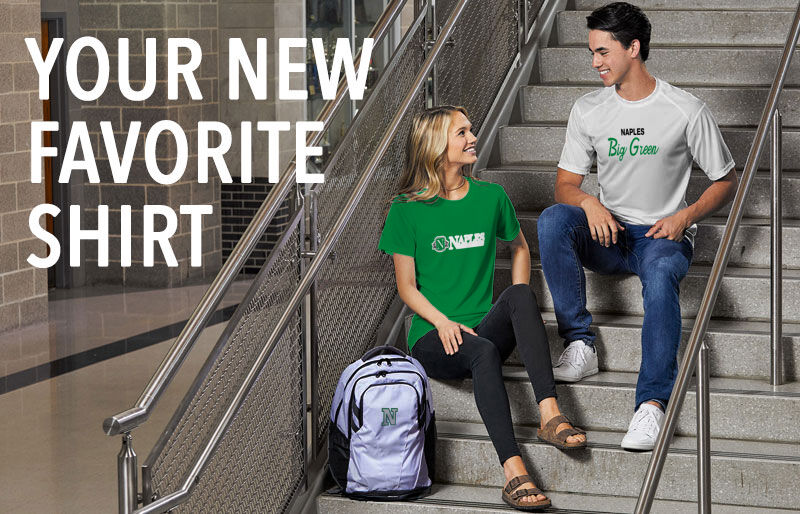 Naples Big Green Your New New Favorite Shirt Banner