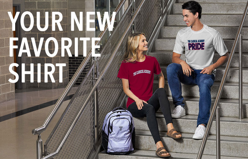 The Classical Academy Titans Your New New Favorite Shirt Banner