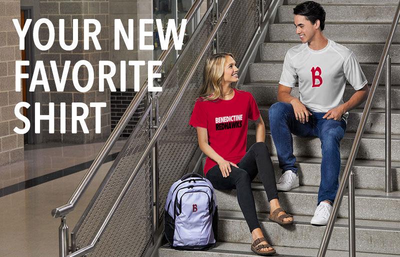 Benedictine University - MESA Redhawks Your New New Favorite Shirt Banner