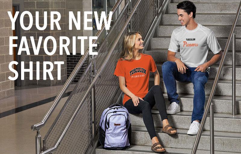 Tusculum University Pioneer Athletics Your New New Favorite Shirt Banner