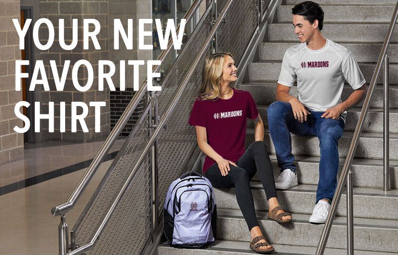 Holland Christian Maroons Your New New Favorite Shirt Banner
