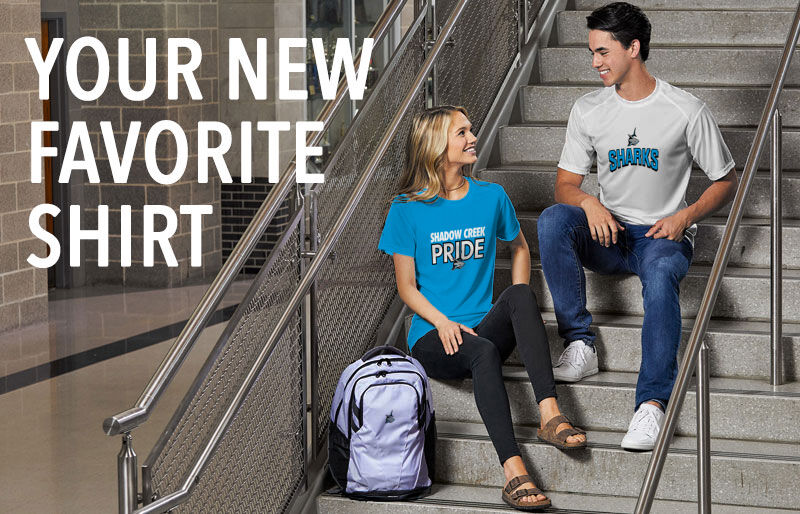 Shadow Creek Sharks Your New New Favorite Shirt Banner