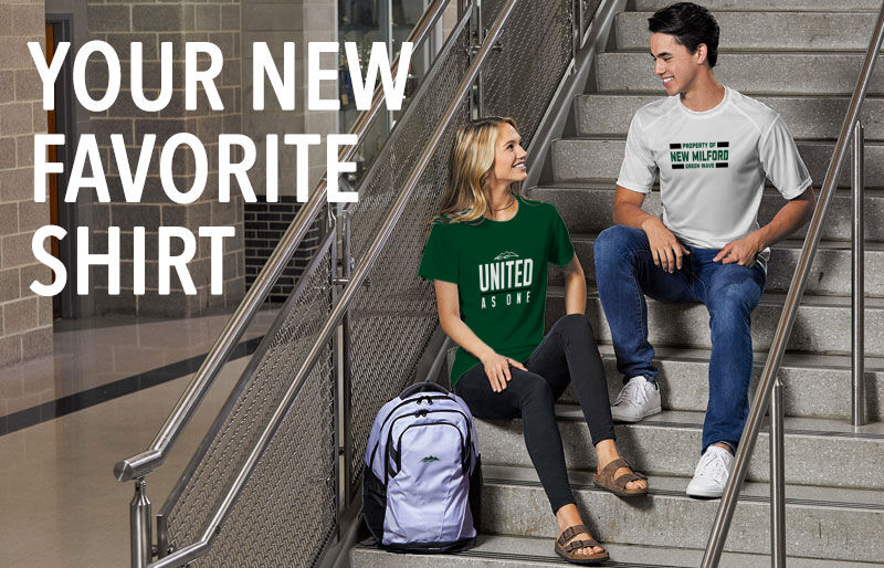 New Milford Green Wave Your New New Favorite Shirt Banner