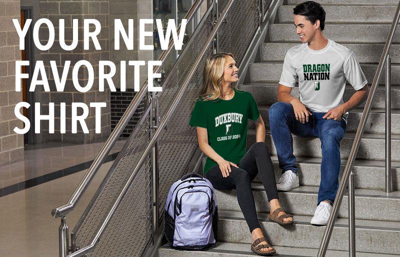 Duxbury Dragons Your New New Favorite Shirt Banner