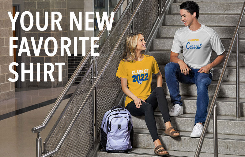 Crossroads Current Your New New Favorite Shirt Banner