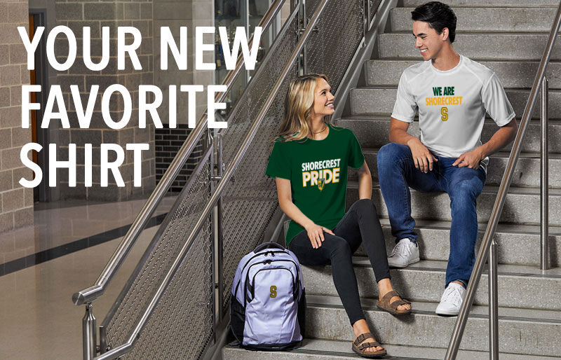 Shorecrest Chargers Your New New Favorite Shirt Banner