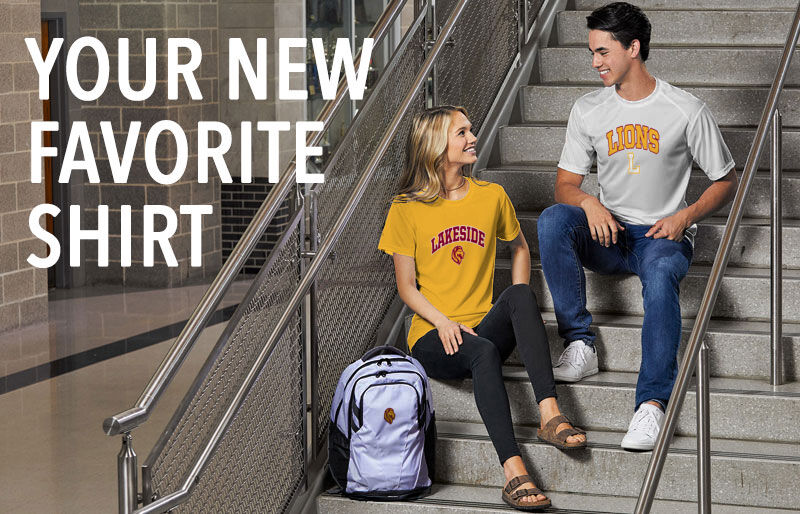 Lakeside Lions Your New New Favorite Shirt Banner