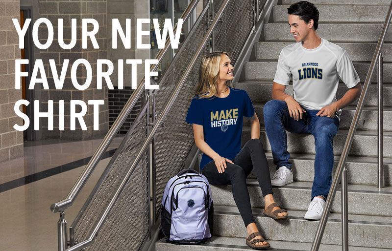 Briarwood Christian School Your New New Favorite Shirt Banner