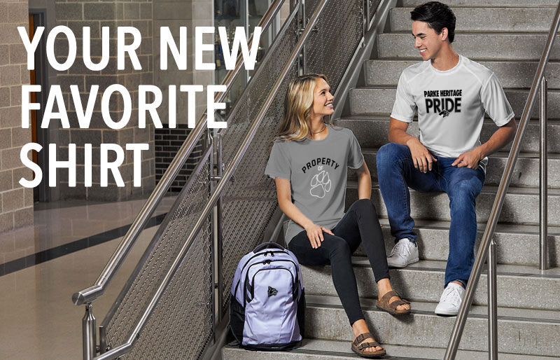 Parke Heritage Wolves Your New New Favorite Shirt Banner