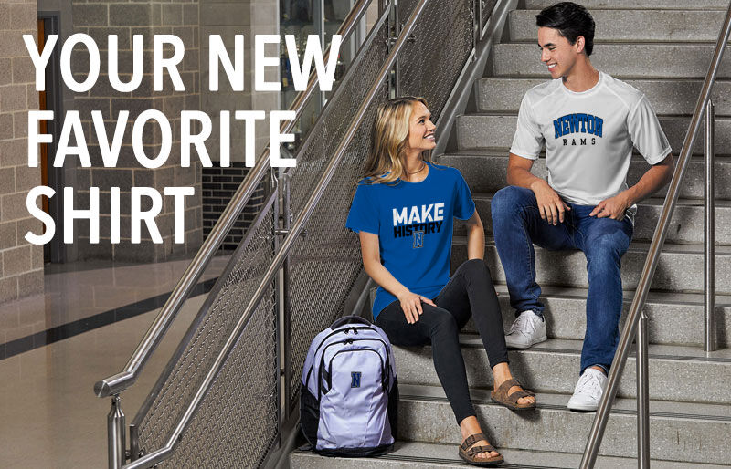 Newton Rams Your New New Favorite Shirt Banner