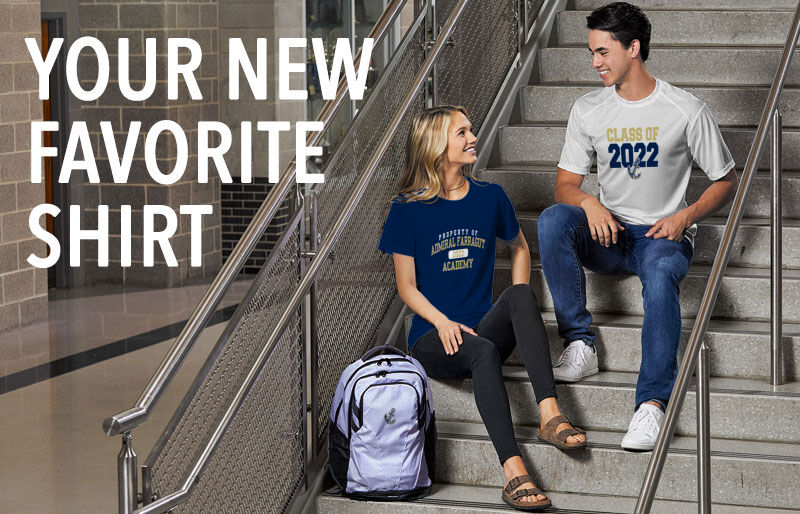 Admiral Farragut Bluejackets Your New New Favorite Shirt Banner