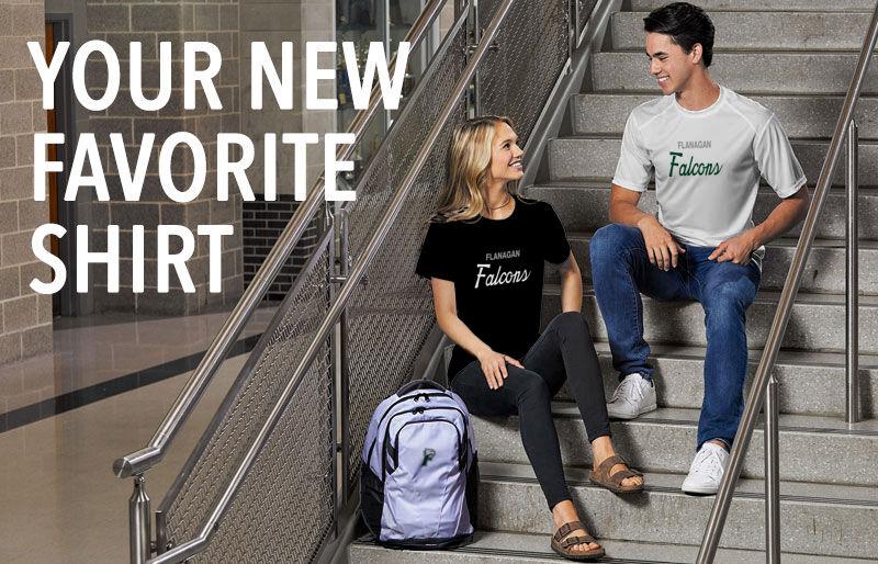 Flanagan Falcons Your New New Favorite Shirt Banner