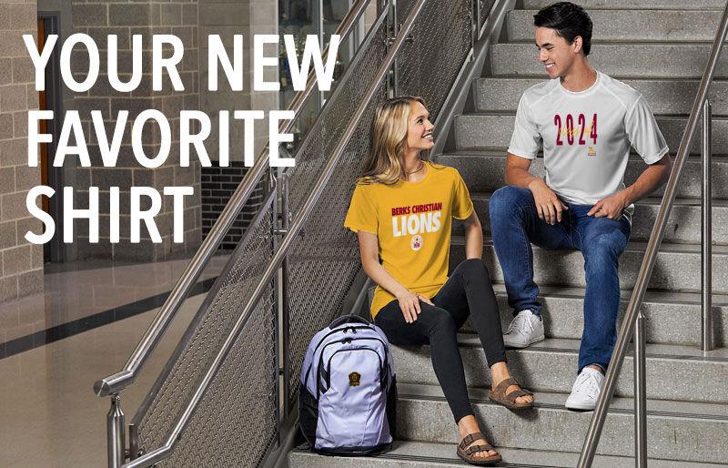 Berks Christian Lions Your New New Favorite Shirt Banner