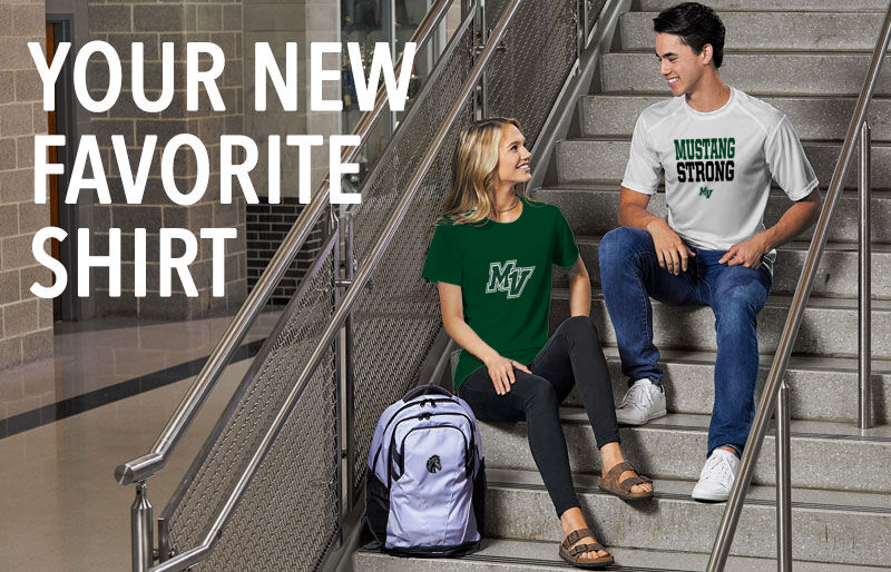 Mounds View Mustangs Your New New Favorite Shirt Banner