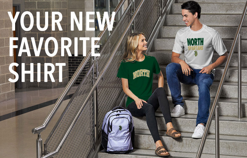 NORTH SPARTANS ONLINE STORE Your New New Favorite Shirt Banner