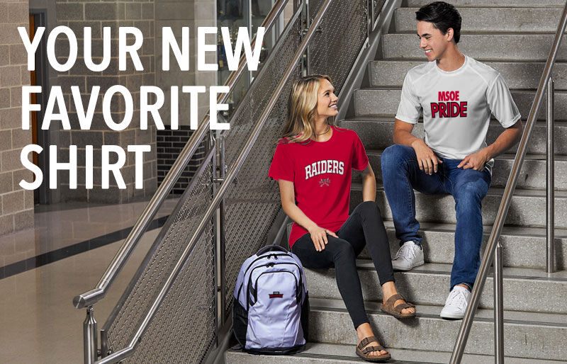 MSOE Raiders Your New New Favorite Shirt Banner