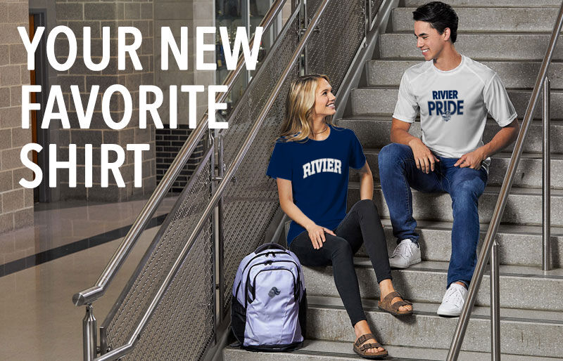 Rivier University Official Store of the Raiders Your New New Favorite Shirt Banner