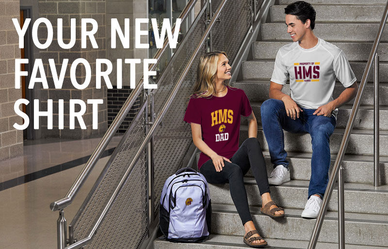 HMS Hawks Your New New Favorite Shirt Banner