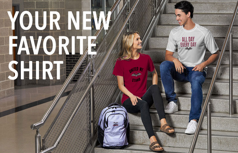 Transylvania University Official Store of the Pioneers Your New New Favorite Shirt Banner