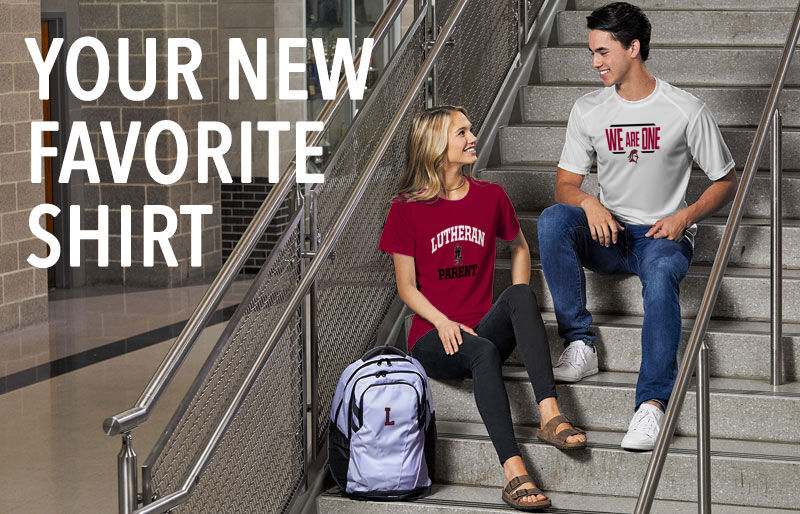 Lutheran Red Knights Your New New Favorite Shirt Banner