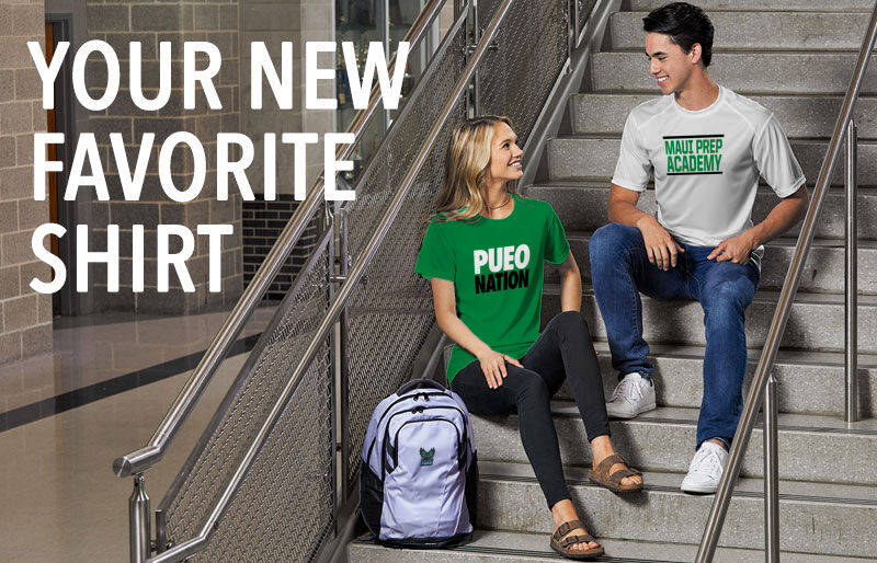 Maui Prep Pueo Your New New Favorite Shirt Banner