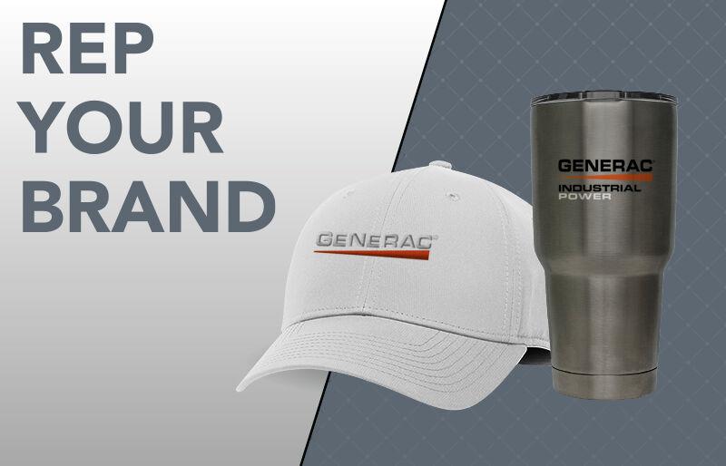 Generac Power Systems Corporate Half Banner Banner