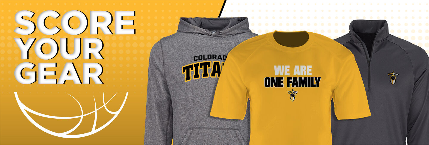 Colorado Titans The Official Online Store Club Basketball Banner