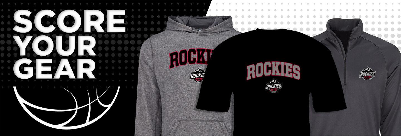Boulder Rockies Online Store Club Basketball Banner
