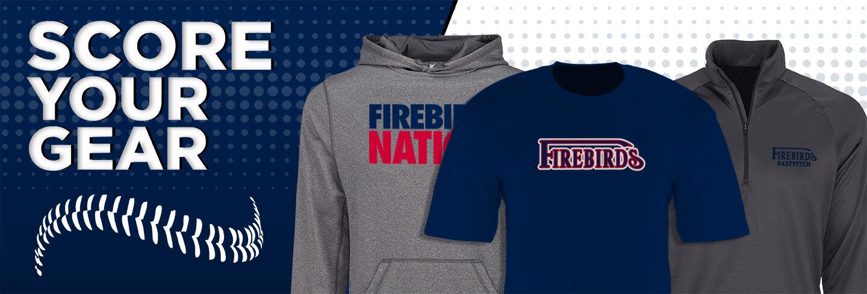 Firebirds Fastpitch The Official Online Store Club Baseball Banner