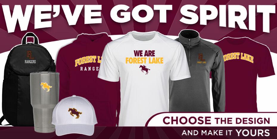 Forest Lake Rangers WeveGotSpirit Banner