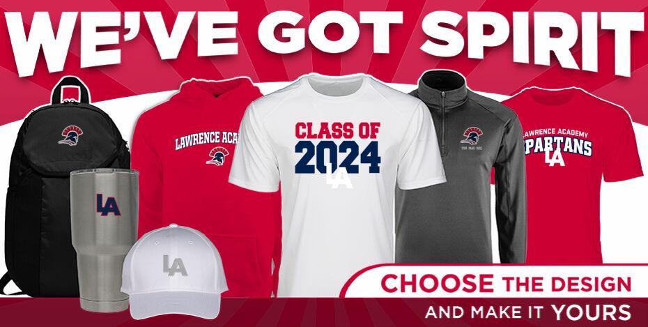 Lawrence Academy Spartans WeveGotSpirit Banner