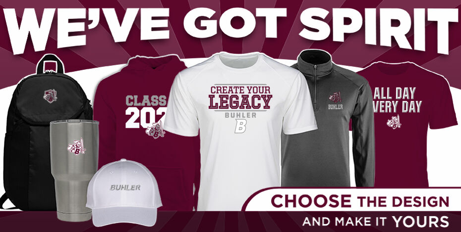 Buhler High School Crusaders Online Store WeveGotSpirit Banner