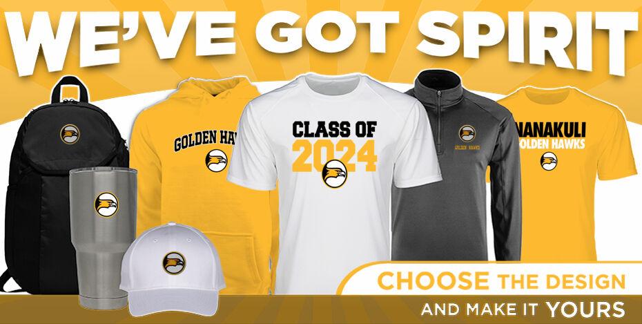 Nanakuli Golden Hawks WeveGotSpirit Banner