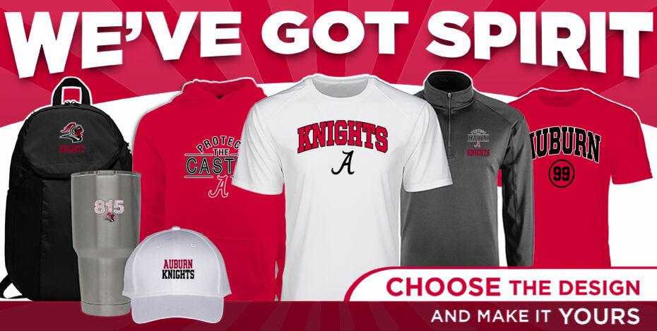 Rockford Auburn KNIGHTS  WeveGotSpirit Banner